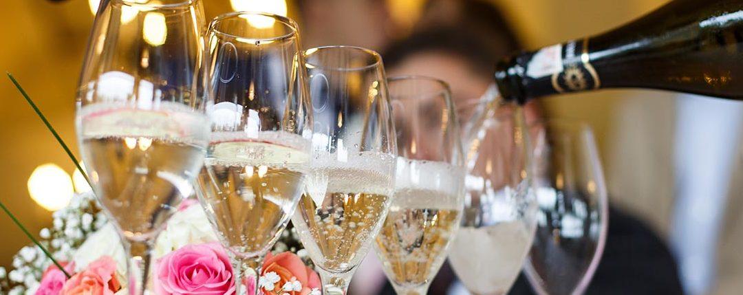 Champagne pour les grandes occasion - mariage, fêtes, anniversaires