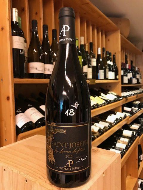 vin rouge Saint-Joseph Les larmes du pere de Anthony Paret