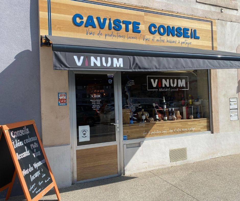 Vinum, votre caviste clic and collect à Romans